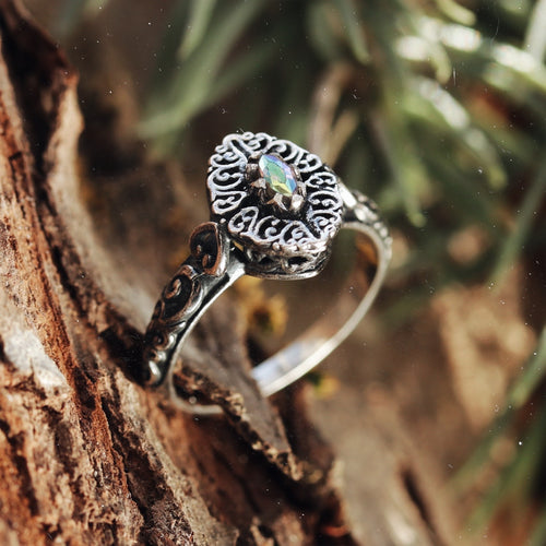 Raina Mystic Cubic Zirconia Ring