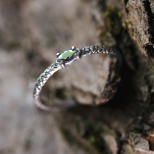 Kadru Serpent Mystic Gothic Ring