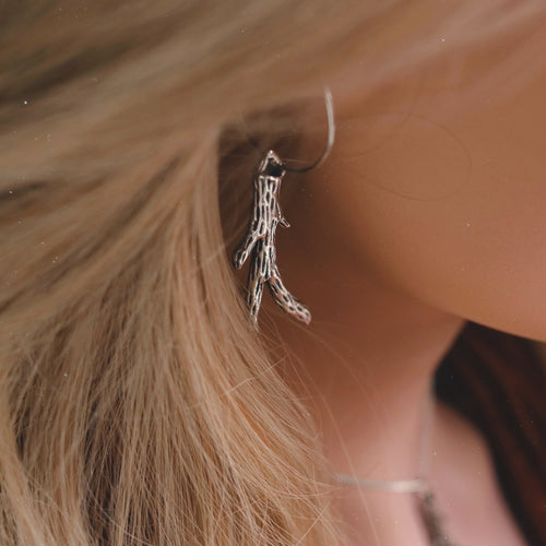 Queen Of The Woods Boho Antler Ear Hoops | Talent Scout Winner