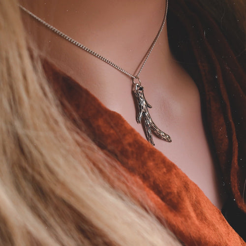 Queen Of The Woods Boho Antler Necklace | Talent Scout Winner