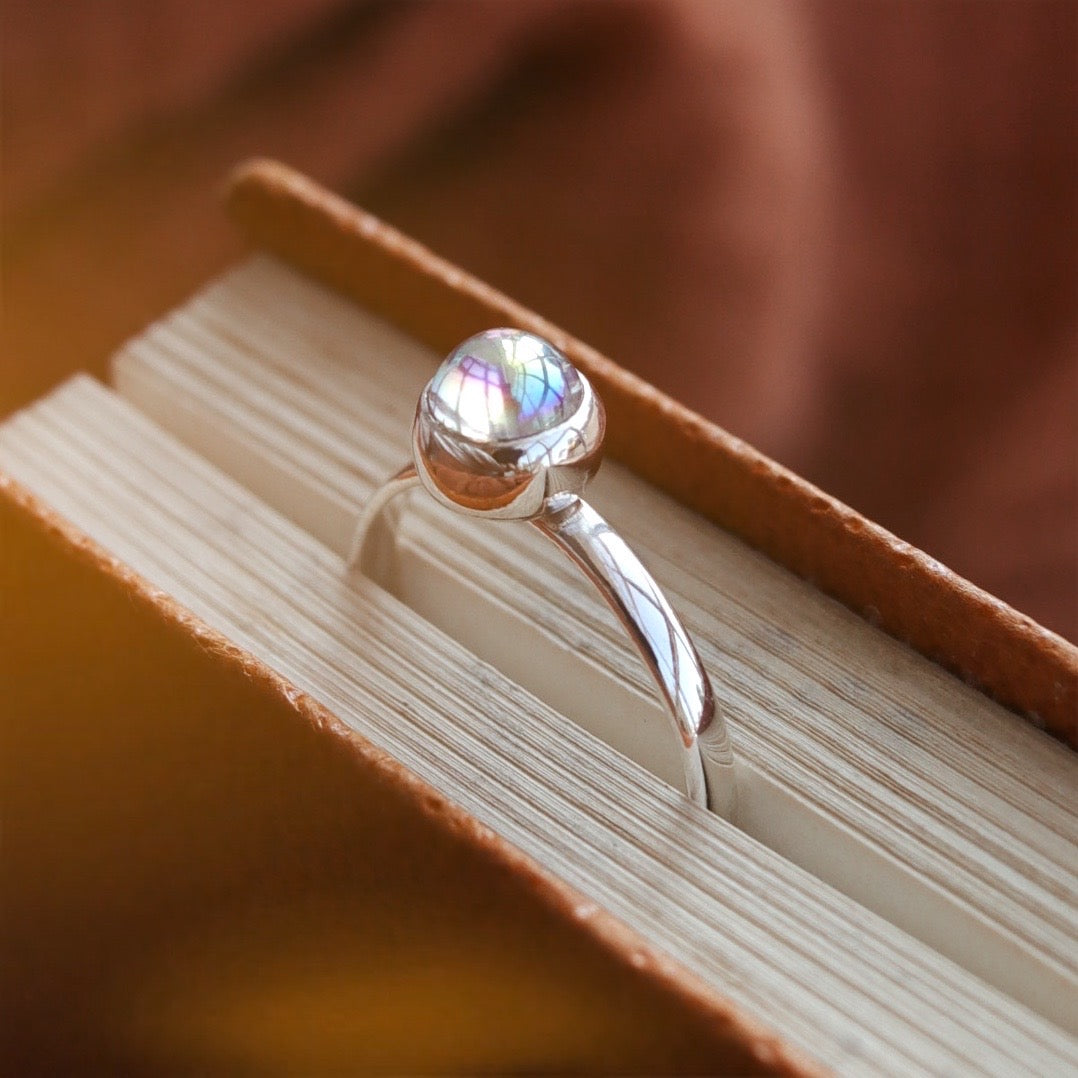 Frore Mystic Opal Sterling Silver Ring