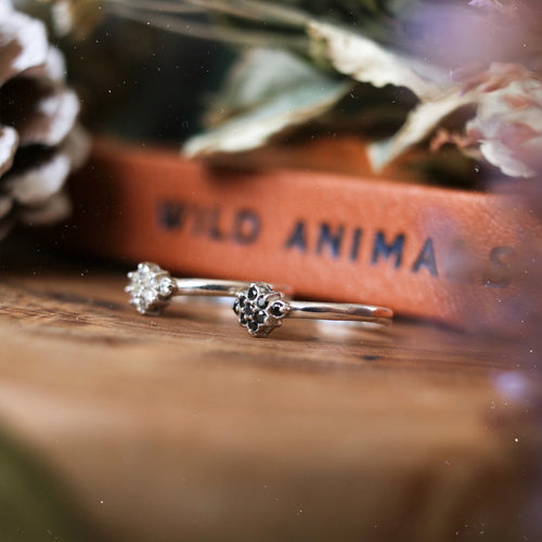Pixie Dust Sterling Silver Ring *Colour Select