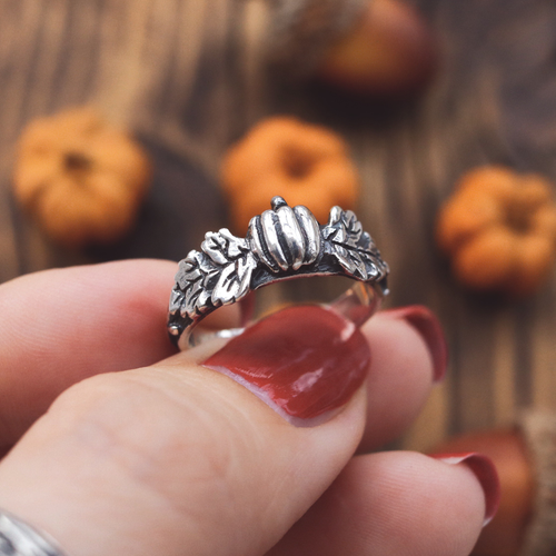 LOW IN STOCK Pumpkin Season Autumn Ring | Talent Scout Winner