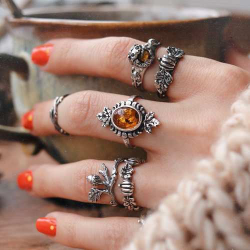 LAST CHANCE Pumpkin Season Autumn Ring | Talent Scout Winner