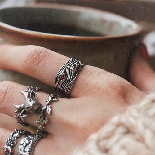 Mystic Tree Knot Ring | Talent Scout Winner