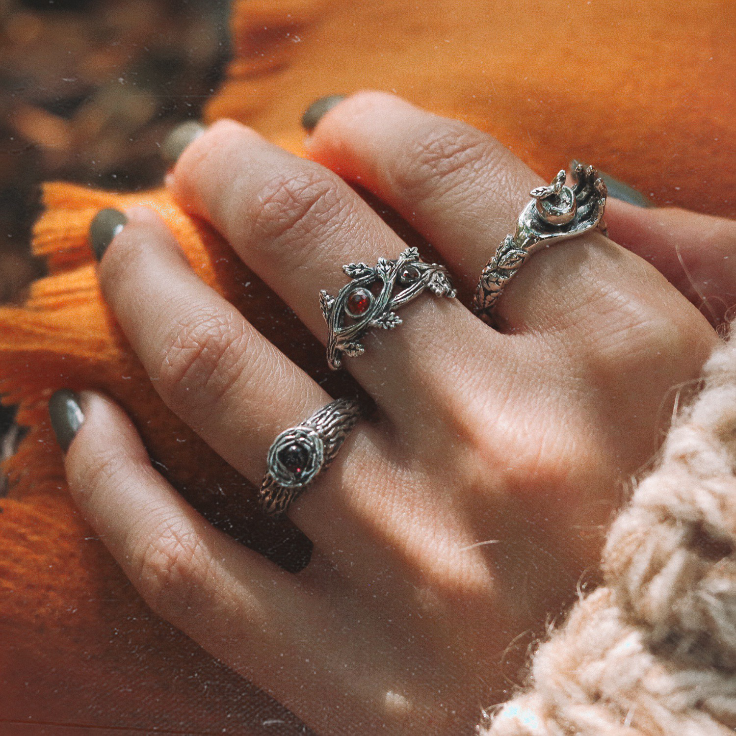 SOLD OUT Berry Branch Boho Ring | Talent Scout Winner