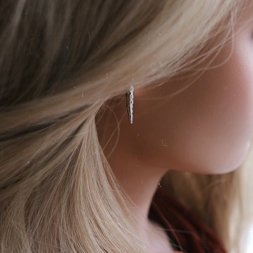 Chatelaine Icicle Drop Earrings *Size/Colour Select