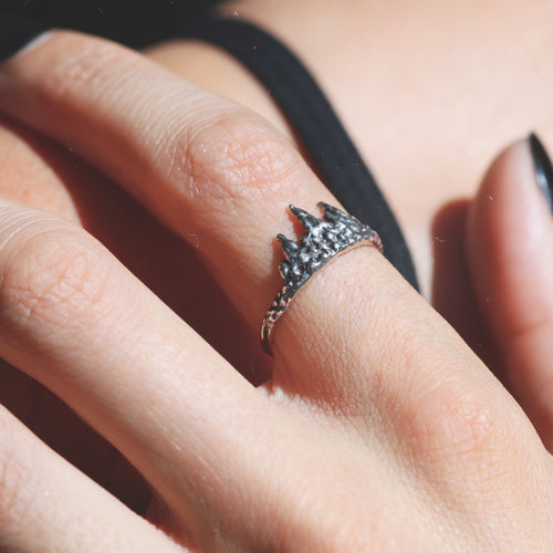 Before The Dawn Fire & Ice Ring *Midi or Regular