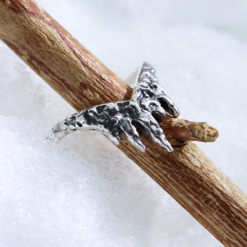 Before The Dawn Fire & Ice Wishbone Ring *Midi or Regular