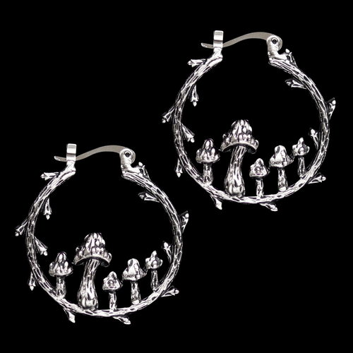 Fairy Ring Hoop Earrings | Harmony Nice X Dixi