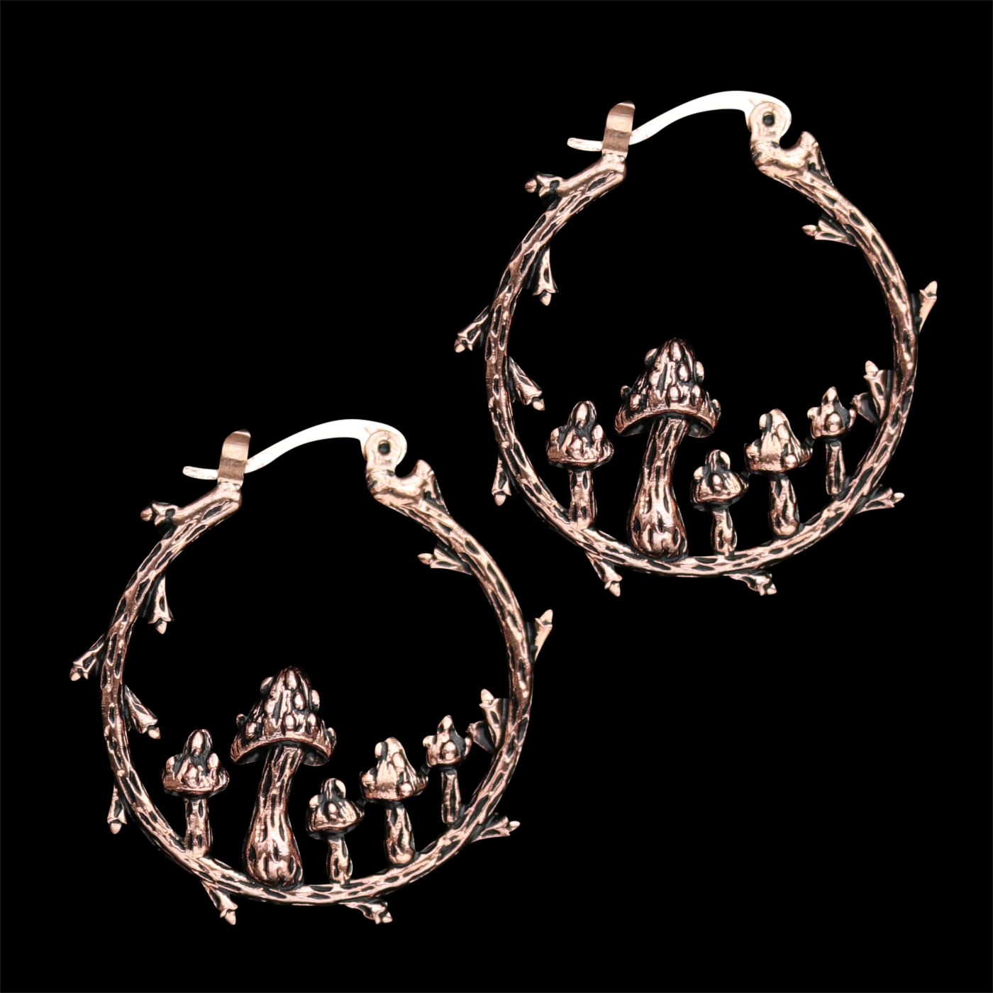 LAST FEW | Fairy Ring Hoop Earrings | Harmony Nice X Dixi