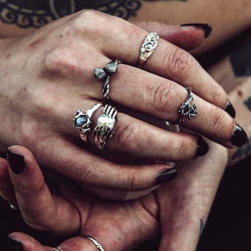 BACK IN STOCK | Death Cap Mushroom Wrap Ring | Harmony Nice X Dixi