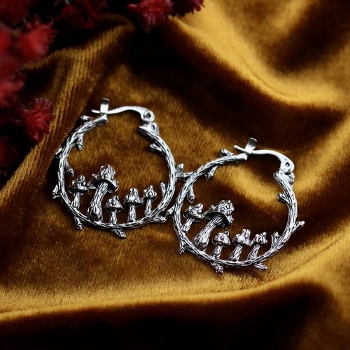 SELLING FAST Fairy Ring Hoop Earrings | Harmony Nice X Dixi