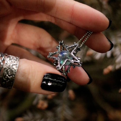 BACK IN | Willow Magick Crystal Ball Fortune Necklace | Harmony Nice X Dixi