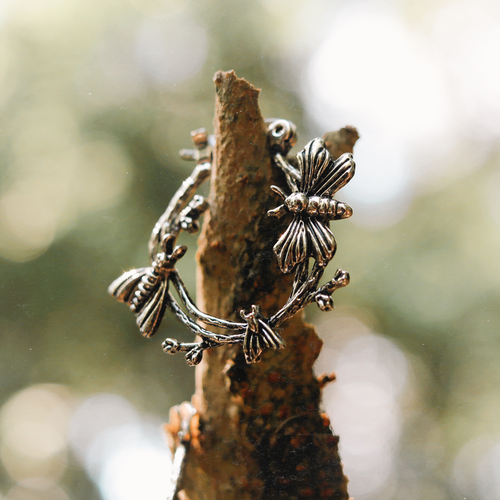 Nocturnal Moth Boho Hoop Earrings | Talent Scout Winner