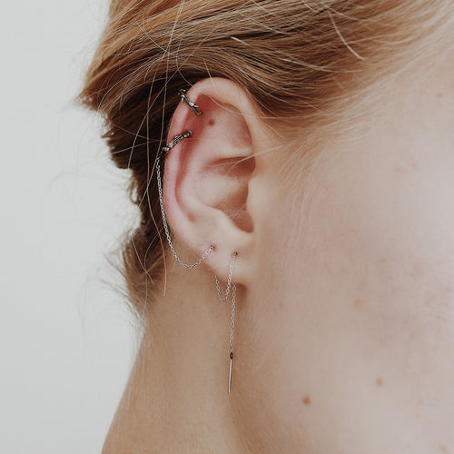 Run Wild Ear Threader & Conch Cuff