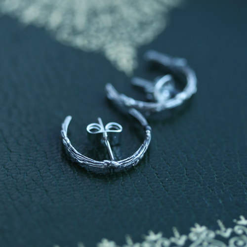 Hysminai Embrace Gothic Branch Hook Earrings