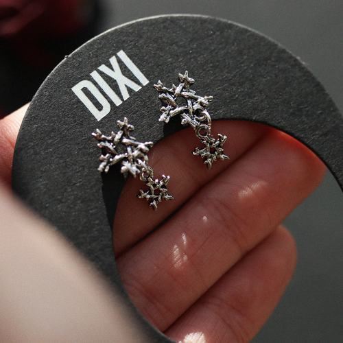 BACK SOON Willow Magick Double Pentagram Drop Earrings | Harmony Nice X Dixi