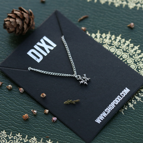 Mini Willow Magick Pentagram Thorn Necklace | Harmony Nice X Dixi