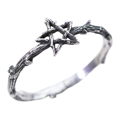 Willow Magick Pentagram Thorn Ring | Harmony X Dixi