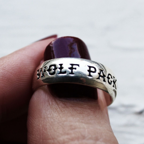 LAST CHANCE Wolf Pack Boho Ring