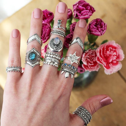 Love Her But Leave Her Wild Boho Ring