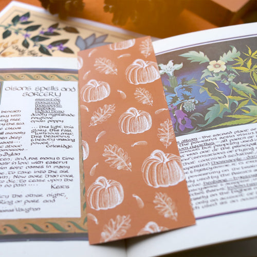 Silvis Autumni Pumpkin Bookmark