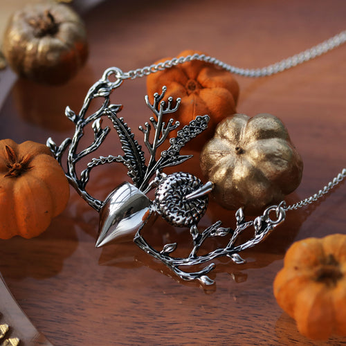 Autumn Bloom Acorn Necklace | Talent Scout Winner