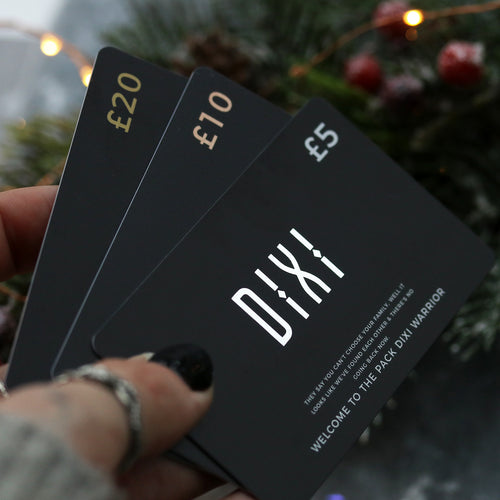 The Silver Dixi Gift Card - £5