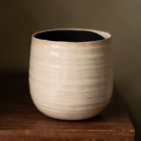 Gylly Pot - Ivory (15cm)