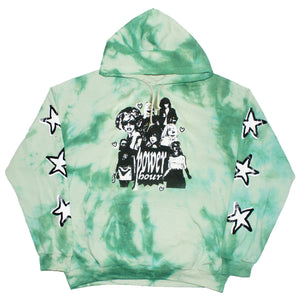 Power Hour Hoodie (Green Dye)