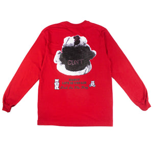 LIU X Nancy Teddies LS T-shirt (Red)
