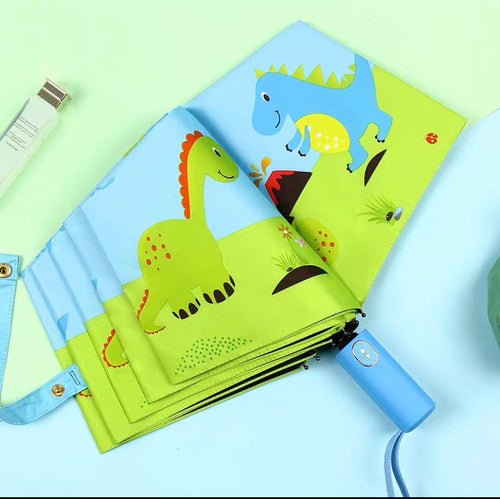 ANTI-KICKBACK AUTOMATIC CHILD CARTOON UMBRELLA - SPORTS & OUTDOORS | JIAG STORE Lifestyle Home Improvement