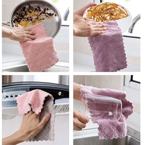 CLEANING TOWEL (5pcs/PACK) - HOME & LIVING | JIAG STORE Lifestyle Home Improvement
