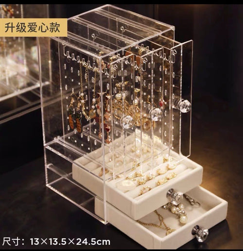 ACRYLIC EARRING STORAGE RACK - HOME & LIVING | JIAG STORE Lifestyle Home Improvement
