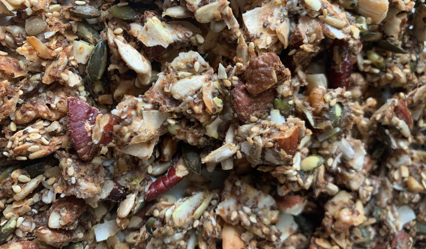 "Ketogenic Granola ""REVIVAL"", with Sacha Inchi, Lucuma and Bromelain (200g)"