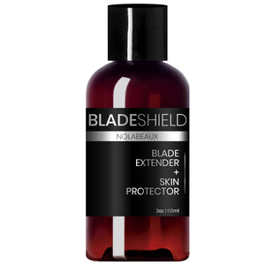 BladeShield All-natural Shave Oil and Razor Blade Extender