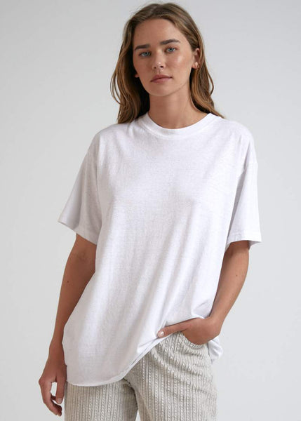 Hemp Oversized Tee - Ellis - Elka