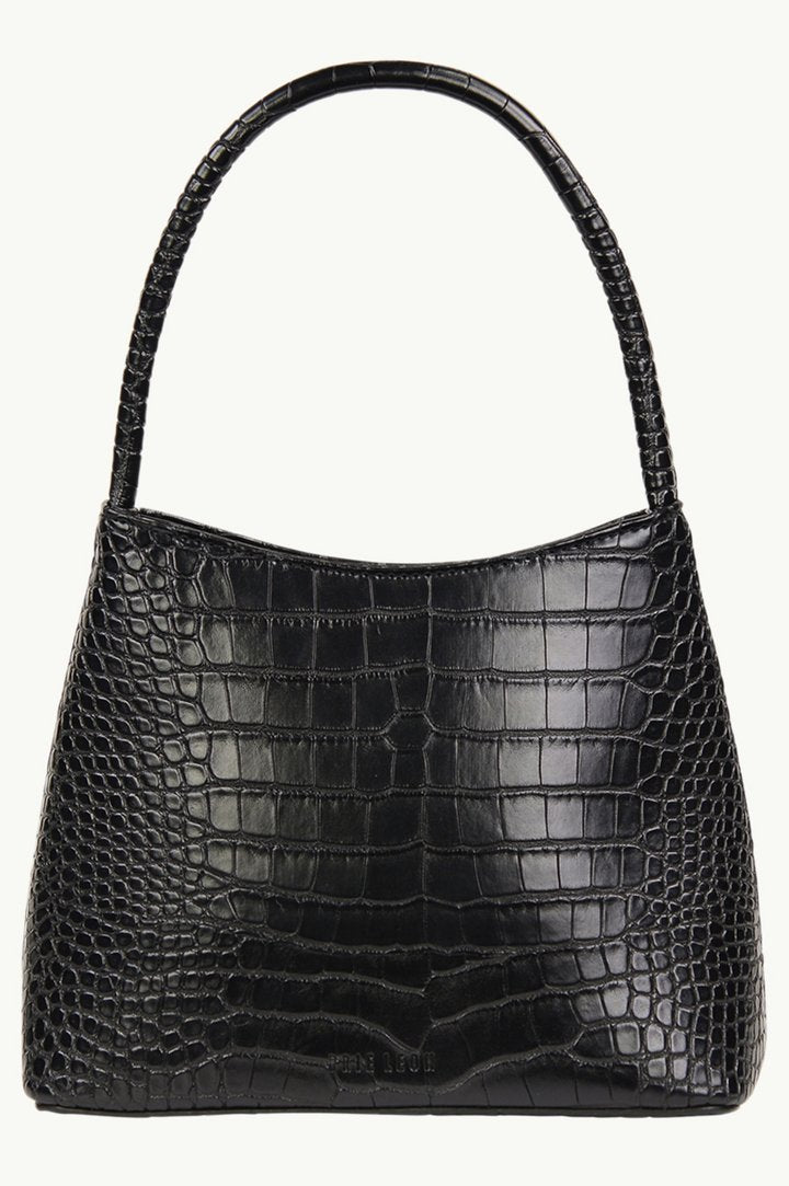 The Chloe Bag Black Matte Croc (Pre-Order) - Ellis - Elka