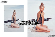 Load image into Gallery viewer, Presetslyᵀᴹ 09 Peach & Gold Desktop/Mobile/Photoshop Lightroom Preset