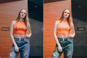 Presetslyᵀᴹ 11 Peach Mobile & Desktop Lightroom Presets
