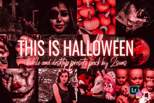 Load image into Gallery viewer, Presetslyᵀᴹ This is Halloween Presets Horror Creepy