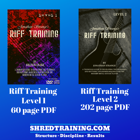 Riff Training Book Series