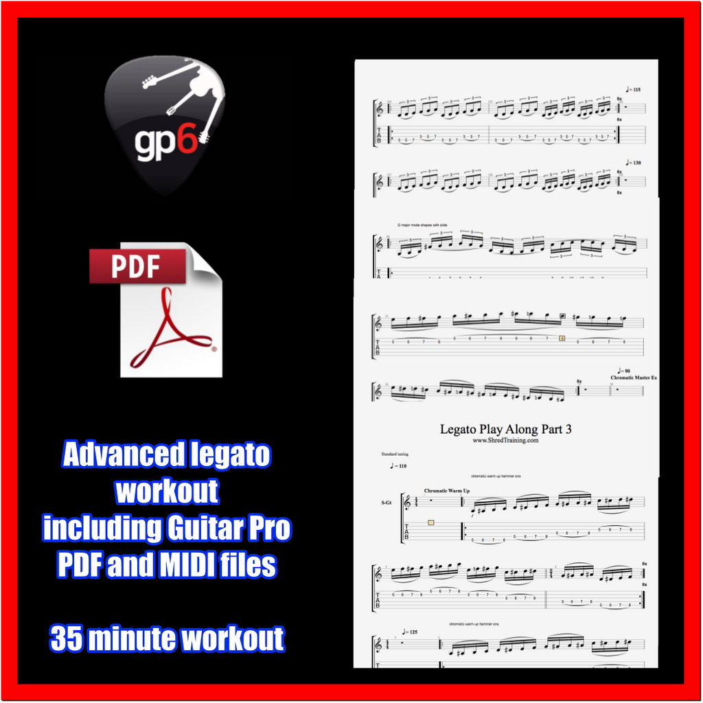 Advanced Legato Play Along