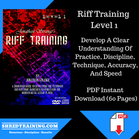 Riff Training Level 1 PDF