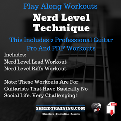 Guitar Nerd Level Play Along Bundle