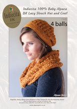 Load image into Gallery viewer, Patterns for alpaca 8ply DK knitting yarn