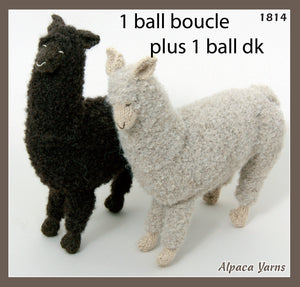 Patterns for alpaca boucle knitting yarn