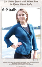 Load image into Gallery viewer, Patterns for alpaca 4ply knitting yarn