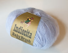 Load image into Gallery viewer, Alpaca 14ply brushed powder blue